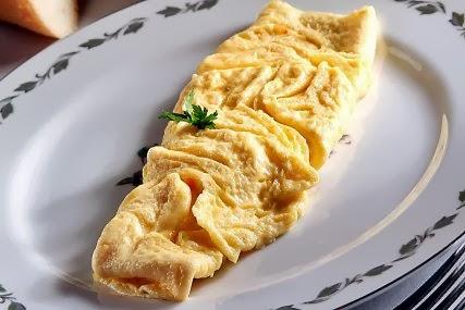 Omelete de Elote y Queso