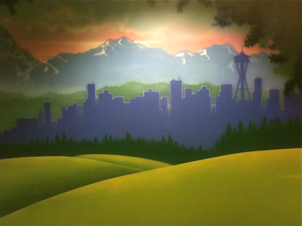 november 2011 worlds of wow blog seattle skyline mural