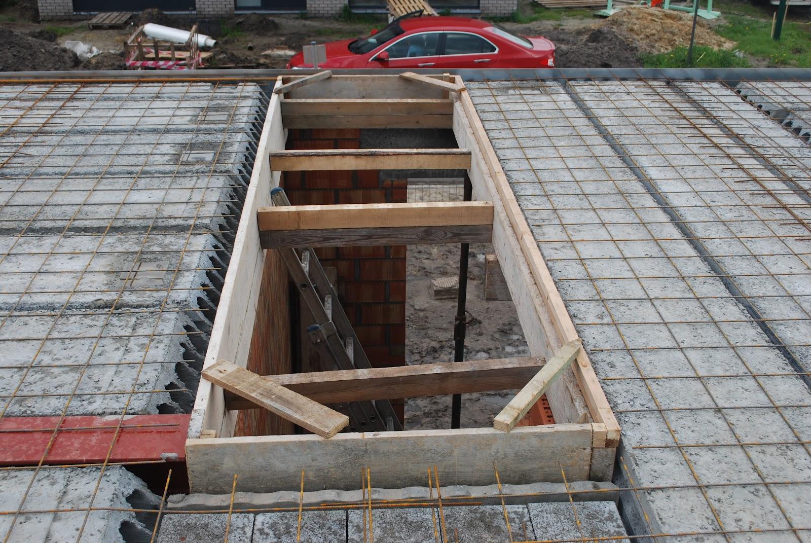 Bouwen in de linde mei 2012 for Trapgat maken in beton