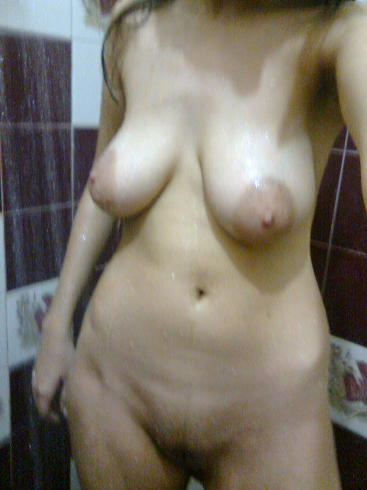 Beautiful Indian Girl Playing around Nude in Shower - 7