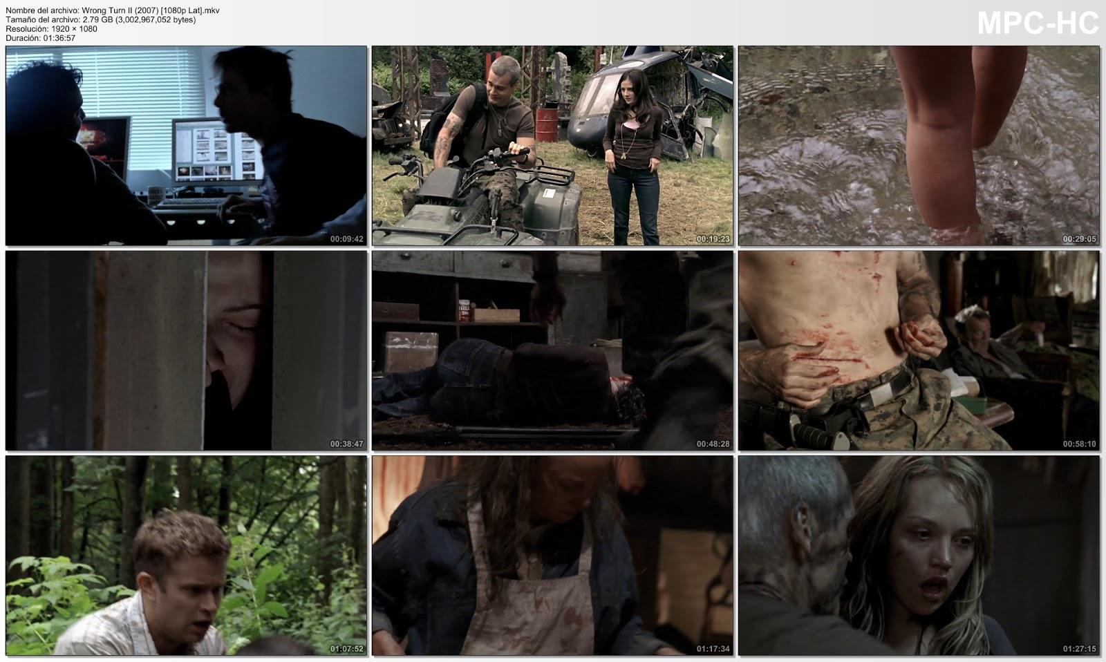 Wrong Turn II (2007)|1080p|Español Latino