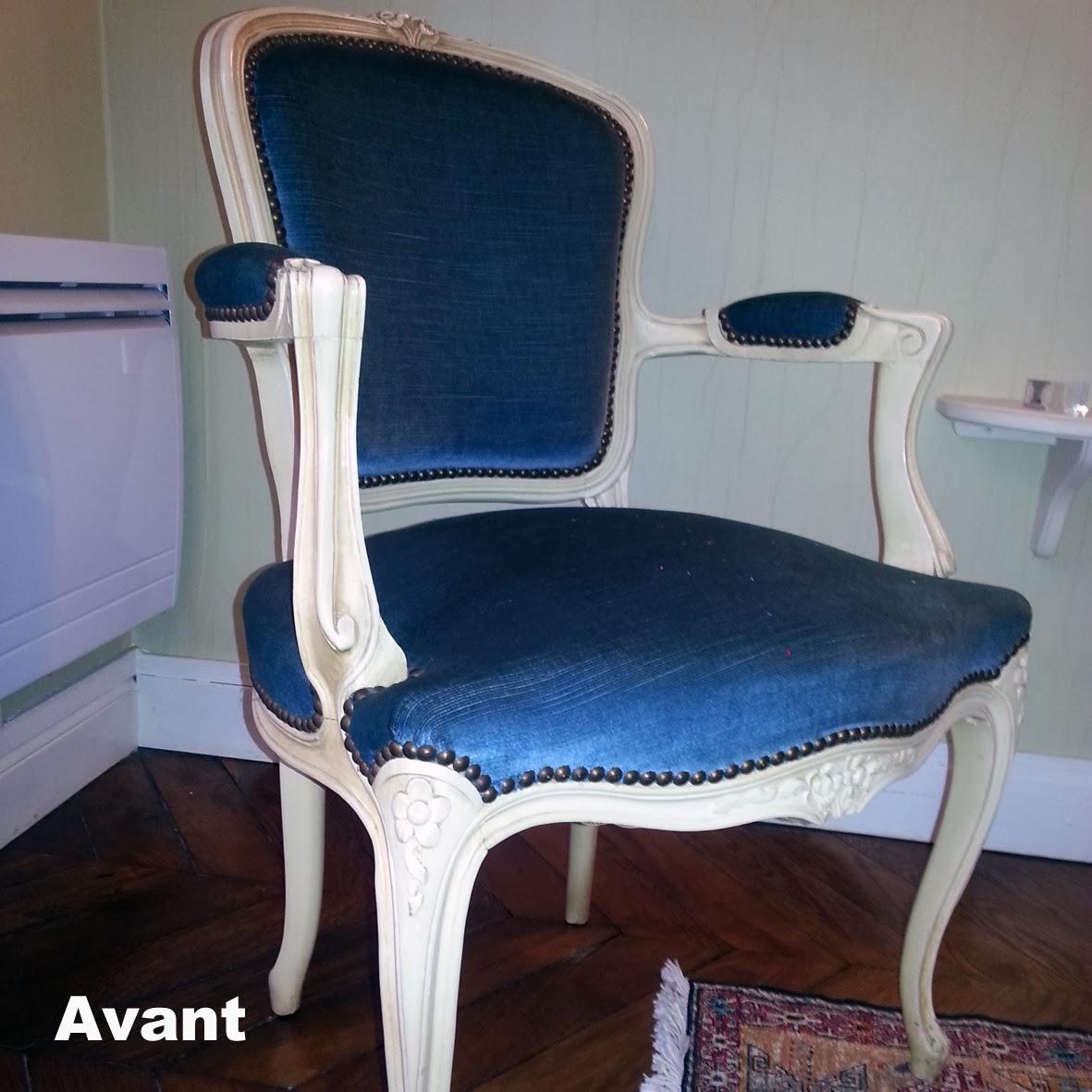 avant apr s cabriolet louis xv atelier velvet. Black Bedroom Furniture Sets. Home Design Ideas