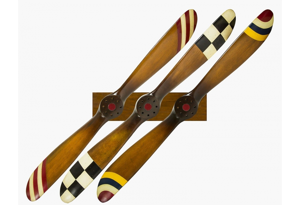 Aviation themed interior design nautical handcrafted for Airplane propellers for decoration