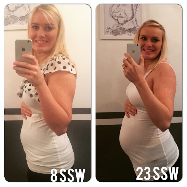 22 + 6 SSW - Wochenrückblick, Klinik - Infoabend