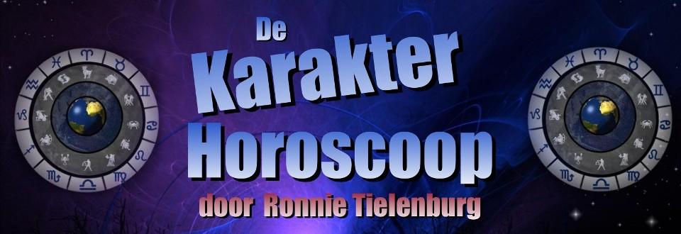 De Karakter Horoscoop door Ronnie Tielenburg