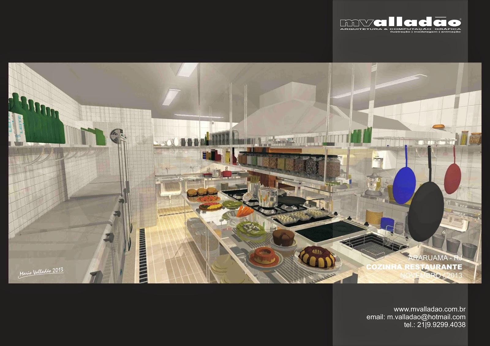 gráfica: Cozinha de Restaurante Vila Capri Araruama RJ #2B2BA0 1600 1131