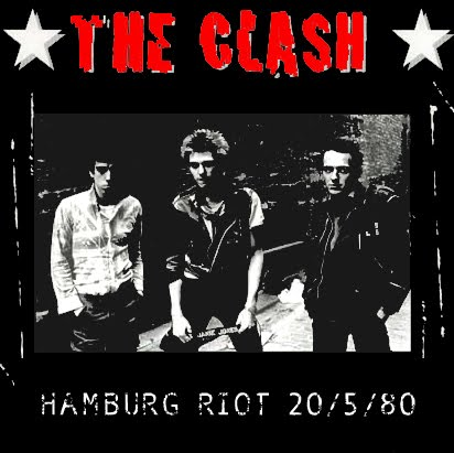 Image result for THE CLASH HAMBURG RIOT