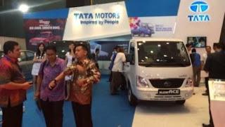 Stan Tata Motors hadir di Pekan Otomotif Medan 2015. (Tata Motors)