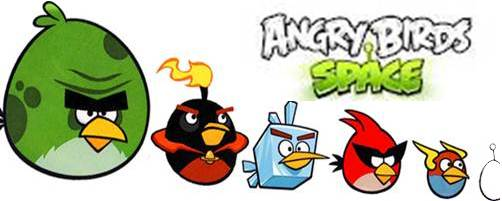 Game Angry Birds Space