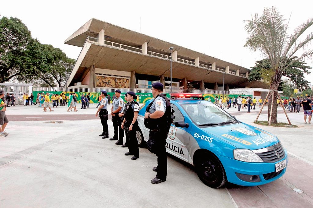 Forças de segurança apresentam planos de atuação para Copa do Mundo no Rio