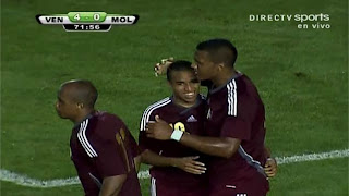 Celebracin del 4to Gol Venezuela