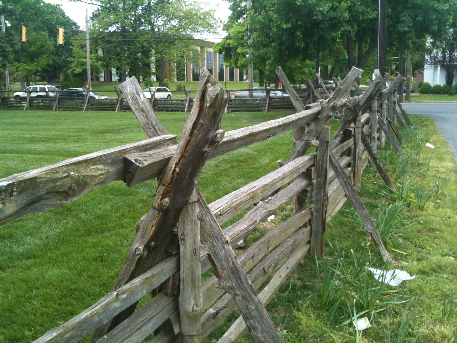 how to cut post and rail fence