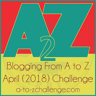 2018 April A to Z Blogging Challenge