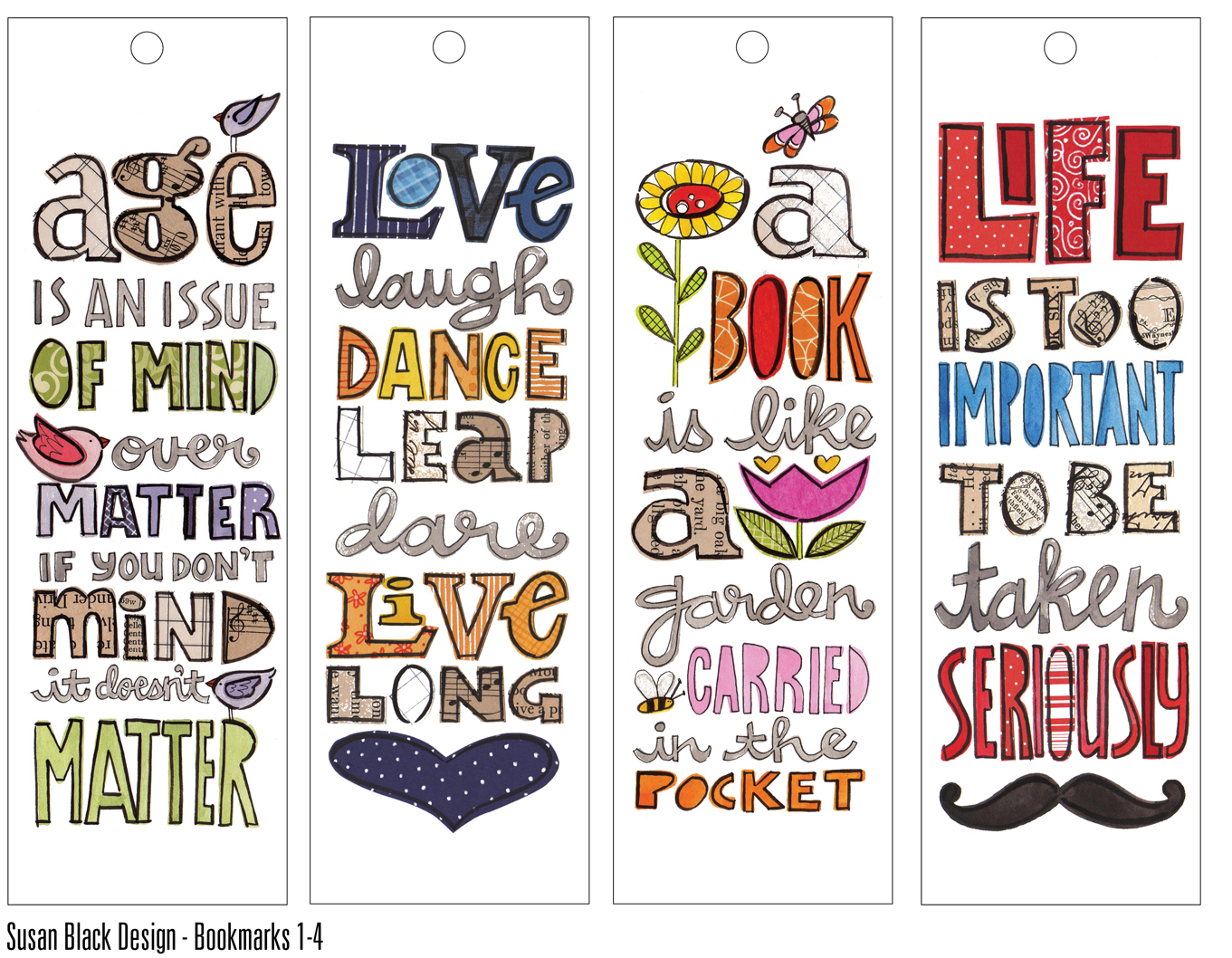 bookmark designs quotation bookmark designs