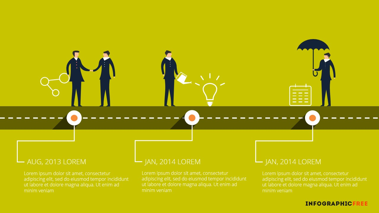 Human vector timeline free powerpoint template alliance alliance timeline infographic alramifo Choice Image
