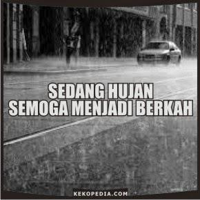 Gambar DP Bbm Hujan Deras