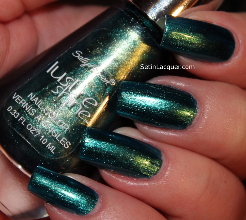 Sally Hansen Lustre Shine Collection swatches - Set in Lacquer