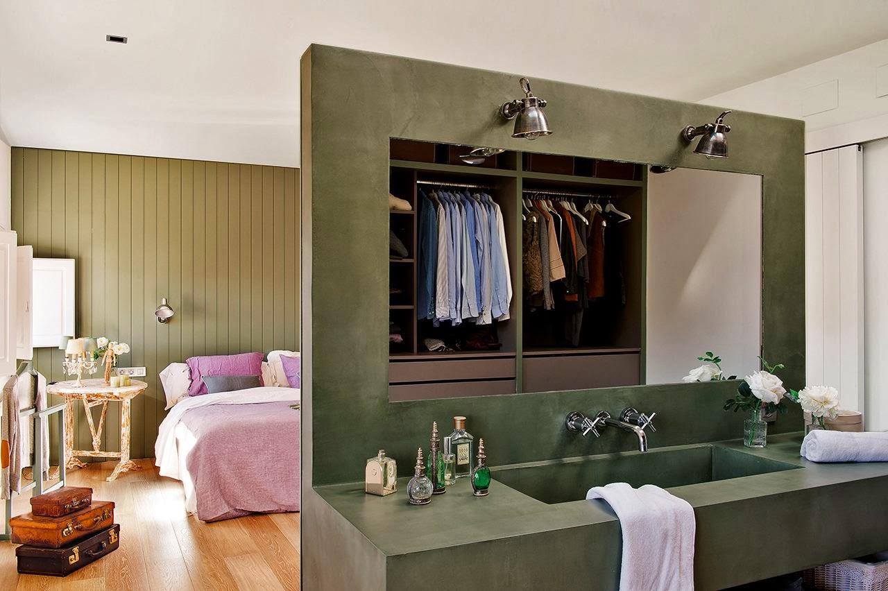Decotips integrar el ba o en el dormitorio virlova style for Dormitorio con bano