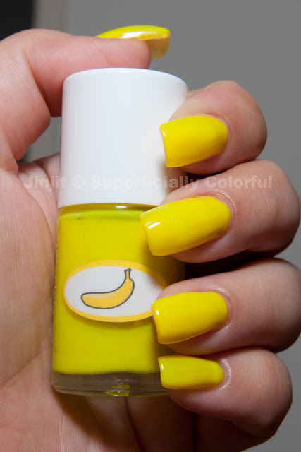 Shimmer Jelly Banana The Nail Junkie