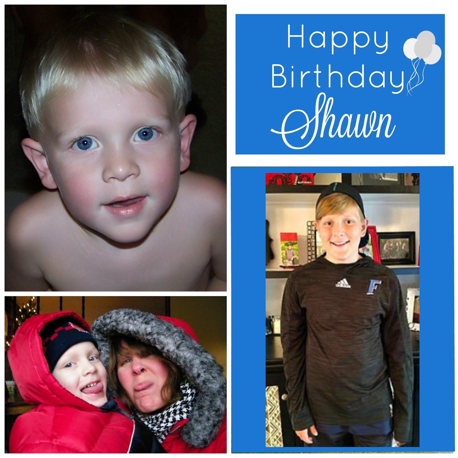 Shawn turns 13
