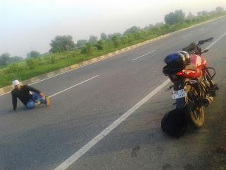 Enrouting Bhangarh