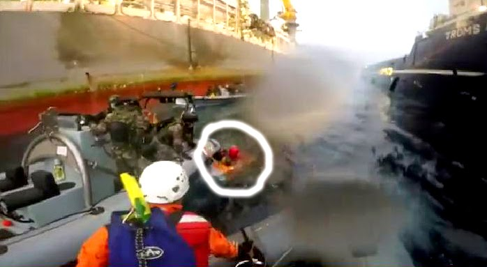 Activista Greenpeace herida trasladada hospital Las Palmas de Gran Canaria