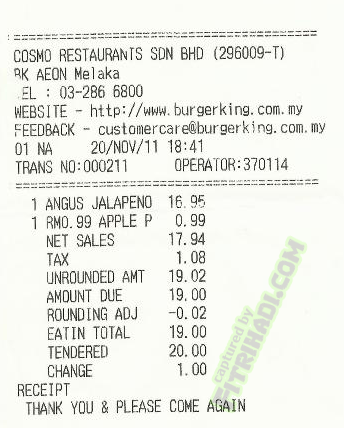 harga price Supreme Angus Steakhouse burger king spicy jalapeno black pepper