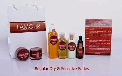 Toko Online Lamour Skin Care - Regular Dry & Sensitive Series - Jual Kosmetik Perawatan Kulit Wajah dan Tubuh