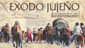 !El 23 de agosto de 1812 el ejército patriota del Gral Manuel Belgrano comienza el heroico éxodo!