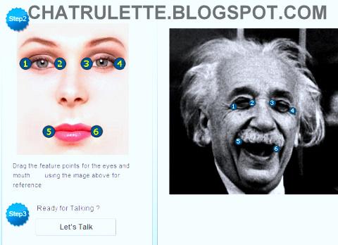 chatroulette, talking image, resim konuşturma