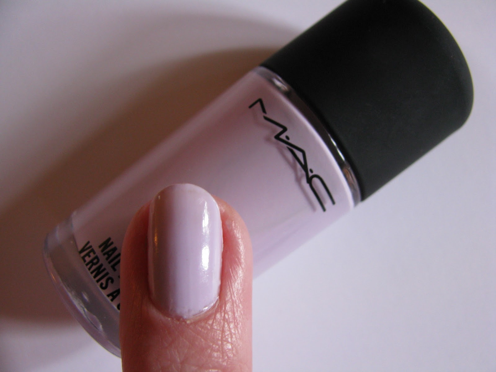 The Beauty Alchemist: MAC Little Girl Type Nail Polish ( from Quite ...