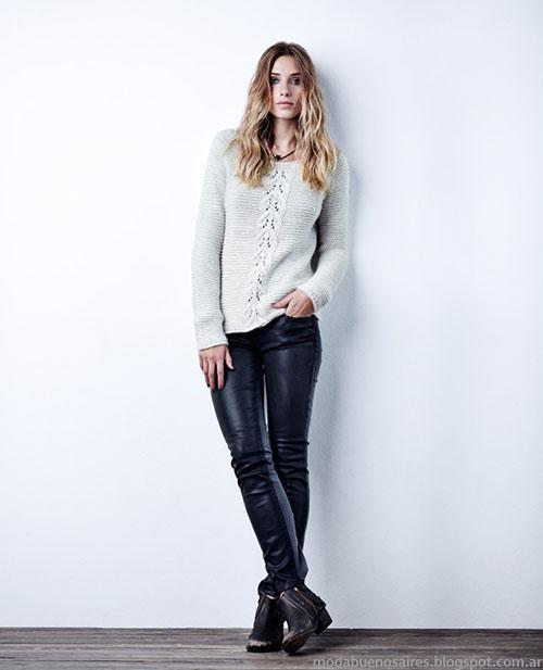Sweaters invierno 2015 moda mujer.