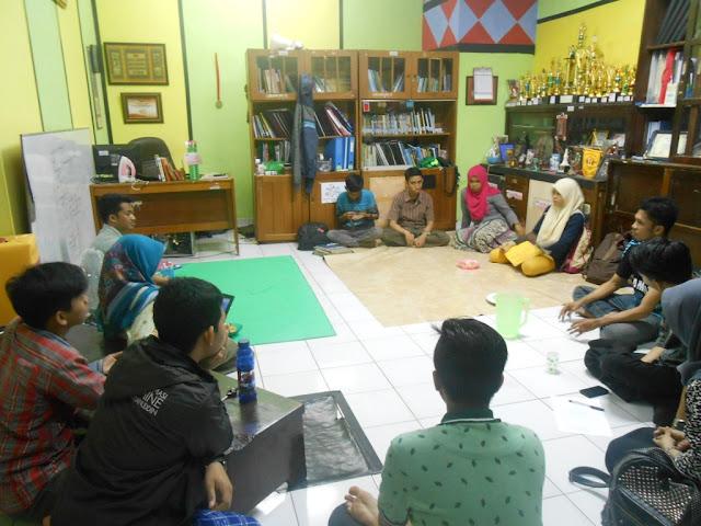 Rapat Koordinasi BEM dan UKM di Kemafar UH