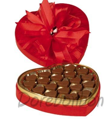 Kalp Kutuda Kalp Cikolatalar