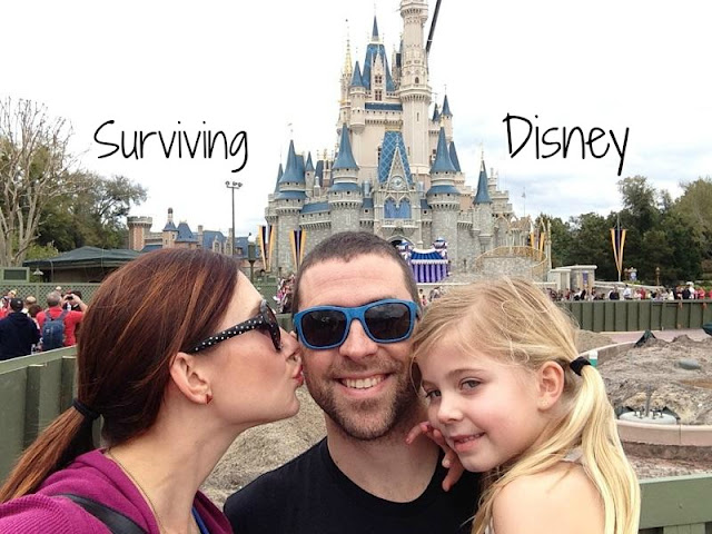 Surviving Disney with Amy West and Family