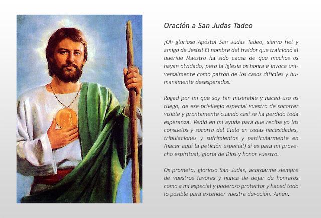 Blog Católico de Javier Olivares-Baiona: BIOGRAFÍA DE SAN JUDAS ...