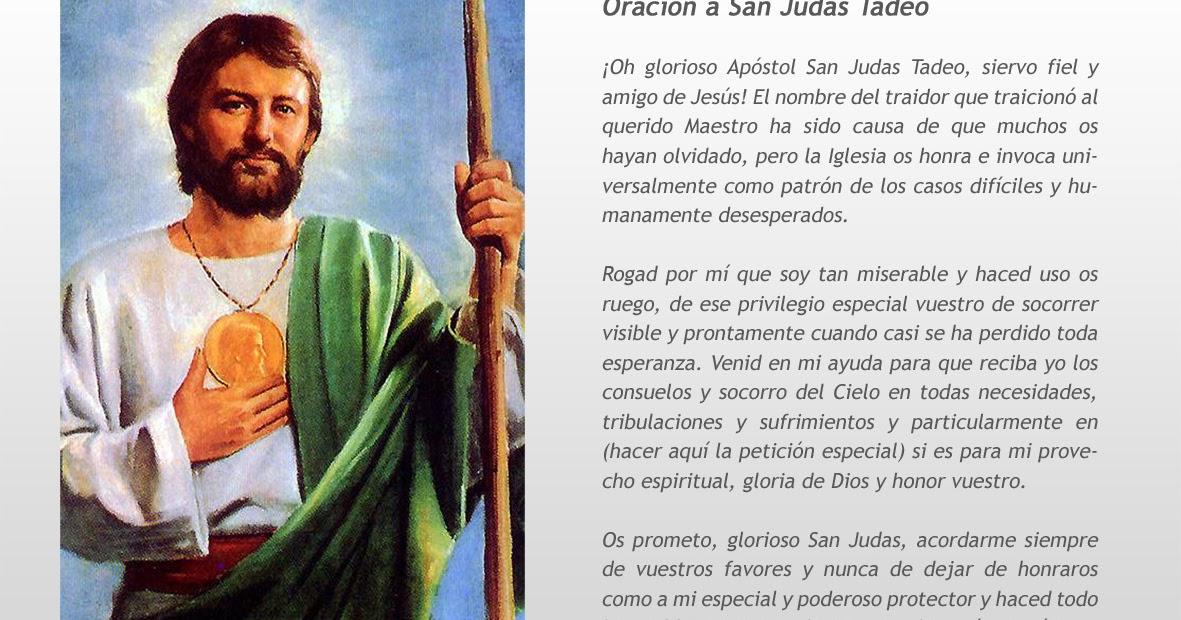 Rincón de la Oración: Estampas Oraciones de San Judas Tadeo