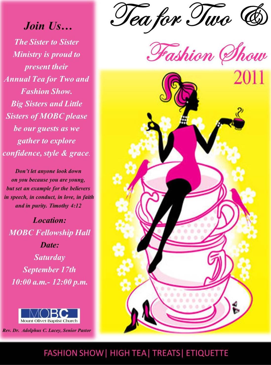Order of program for church fashion show - Church Fashion Show Program Church Fashion Show Program