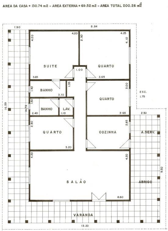 Projetos e plantas de casa plantas de casas - Plantas para casas ...