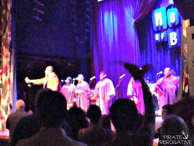 Celebrating at House of Blues Gospel Brunch