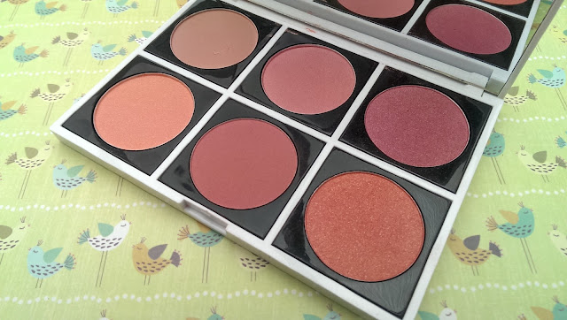 The FashionistA 6 blush palette