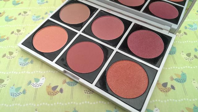 The FashionistA 6 blush palette