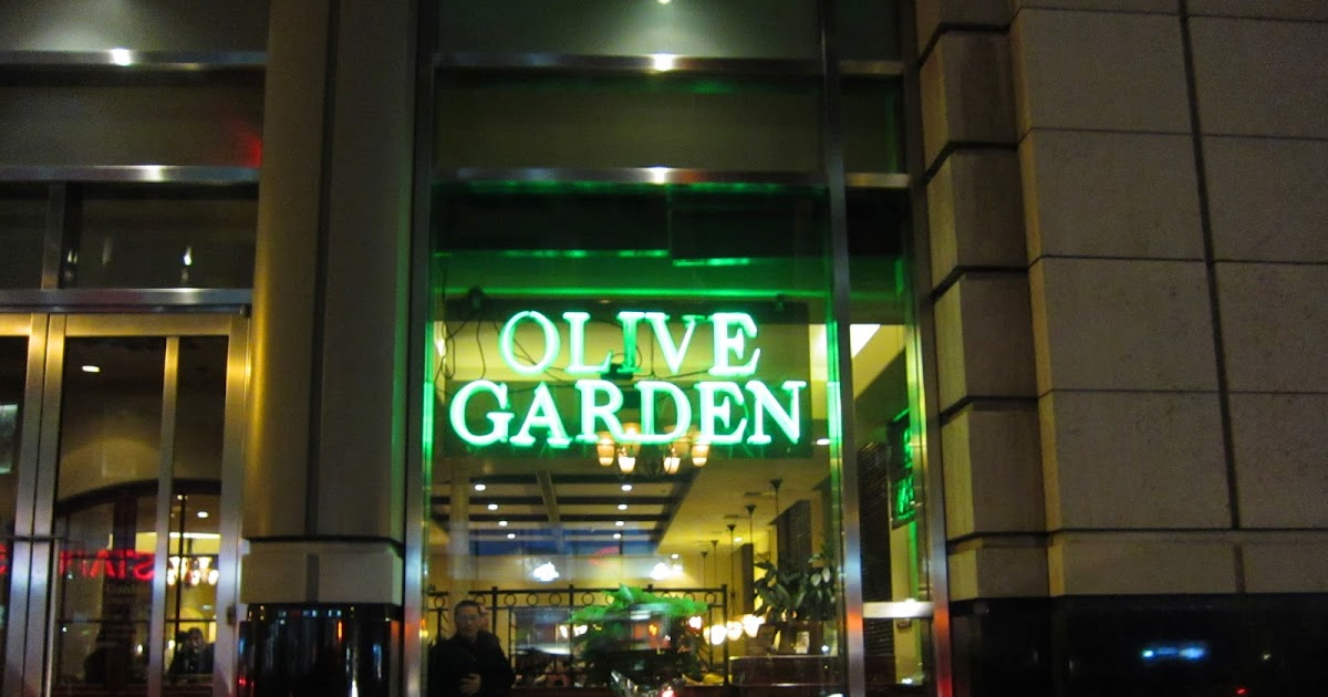 Tasty Eating: Tuesday Nights: Olive Garden