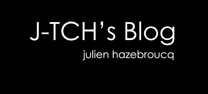 Julien Hazebroucq's Blog