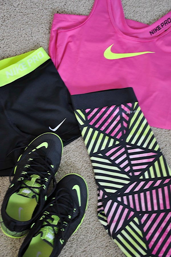 Summer Morning Routine - workout clothes