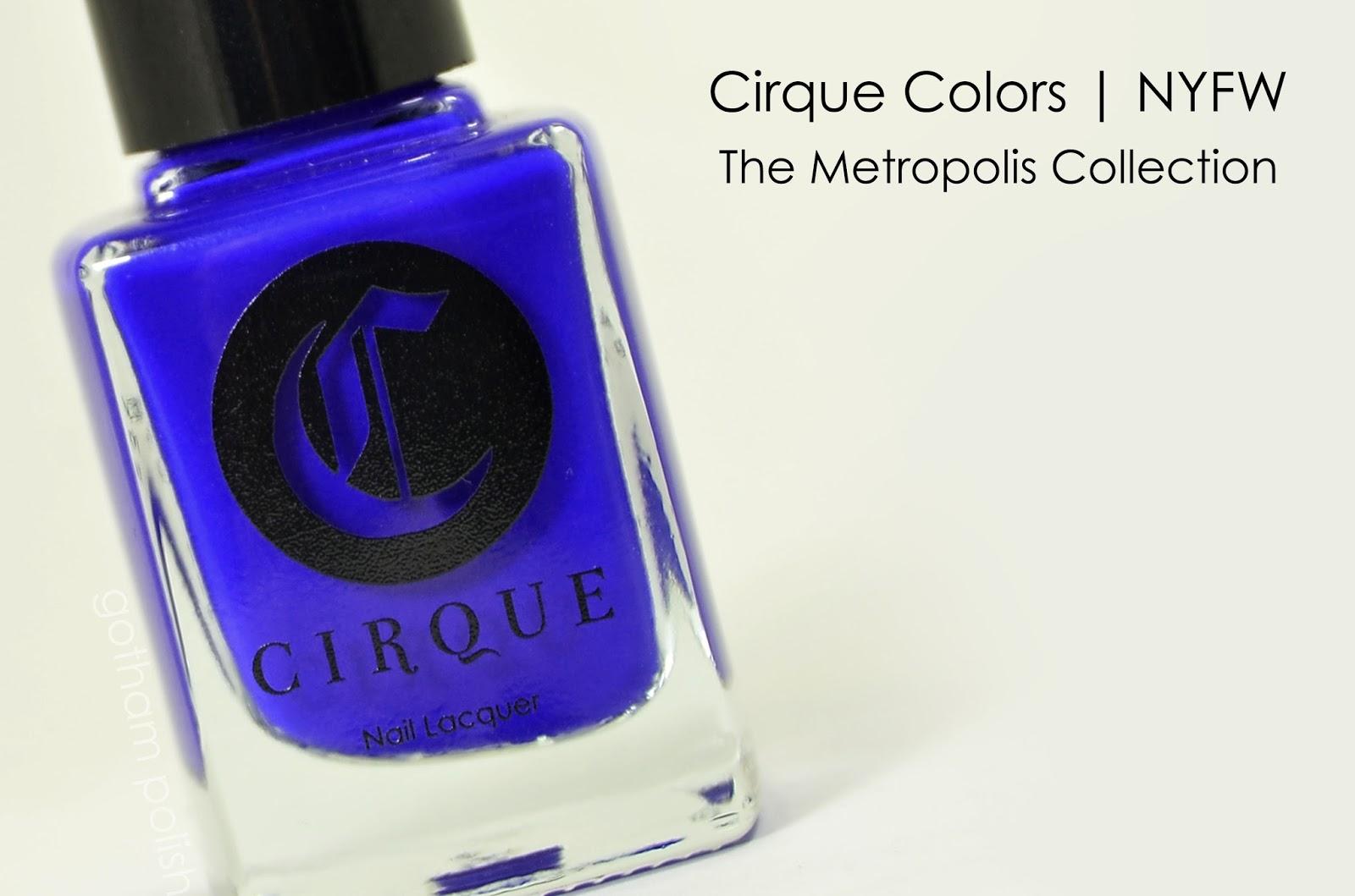Cirque Colors NYFW