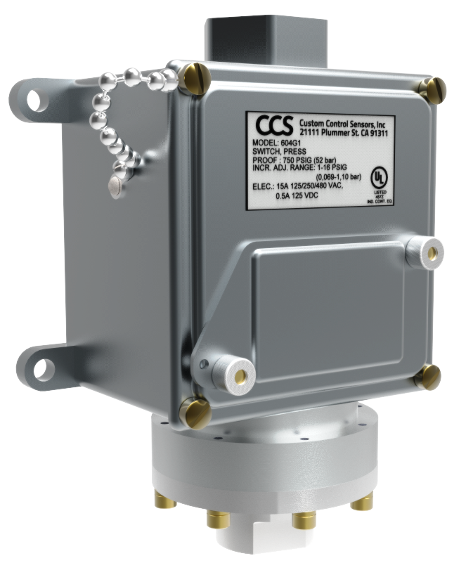 CCS Dualsnap pressure switch