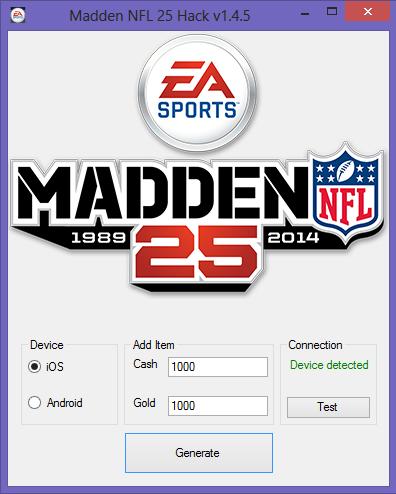 madden nfl 25 cash gold hack best hacks 4 free