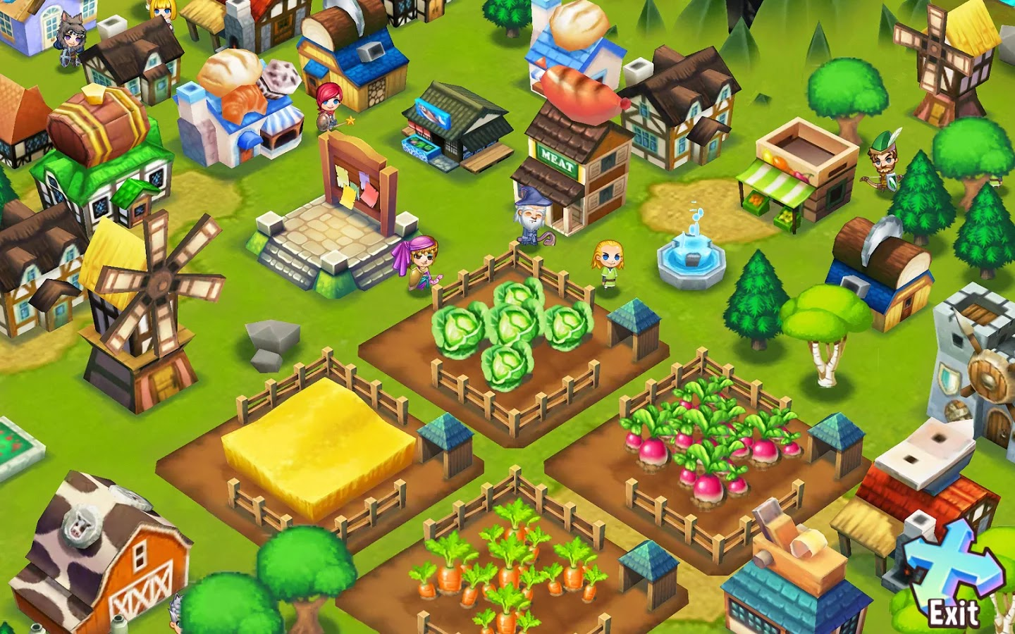 Adventure Town v0.8.3 Mod [Unlimited Gold & Gems]