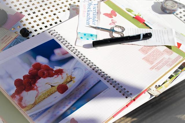 WIP: Beim Kochbuch gestalten